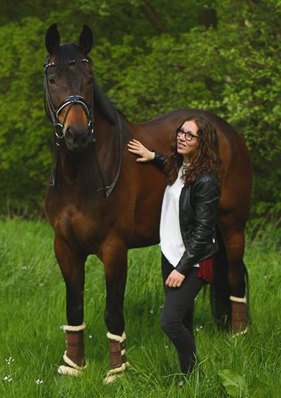 Pia und ihr Pferd